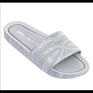 Melissa + Baja East Slide Sandals size 6